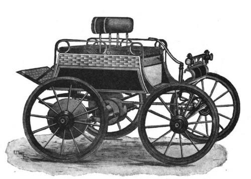 1900 American Dos-A-Dos