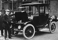 1918 Edison Electric Car
