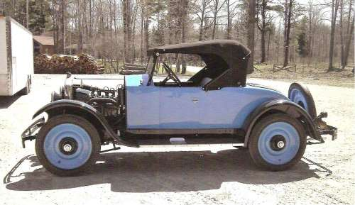 1924 Hupmobile Model R Roadster