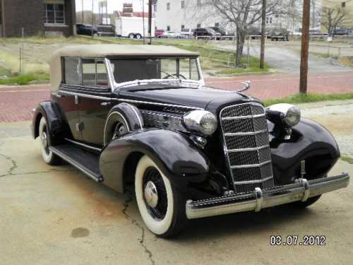 1925 Cadillac Series 355D - from the Vintage Car Era