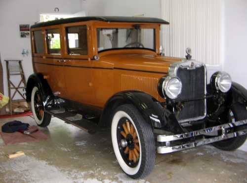 1926 Peerless Sedan