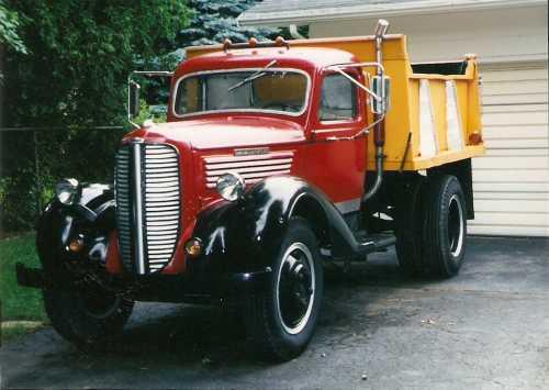 1937 Dodge Dump Truck