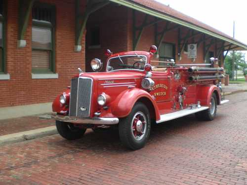 1942 Mack Fire Engine