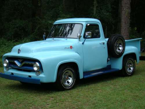 Classic Era 1956 Ford F100 Pickup Truck