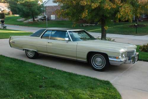 1972 Cadillac DeVille - from the Classic Car Era