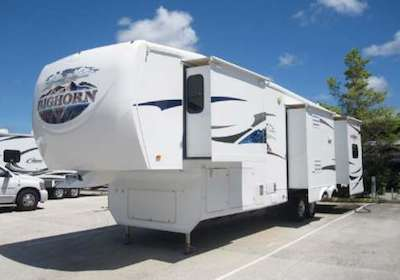 2009 Big Horn Fifth-Wheel Travel Trailer