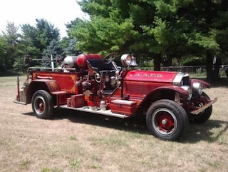 1923 LaFrance Fire Engine