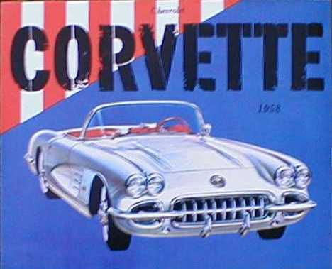 Chevrolet Corvette Sales Brochure