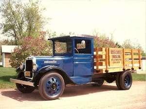 1929 GMC T30 Stake Truck
