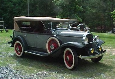 1931 Plymouth Touring Car