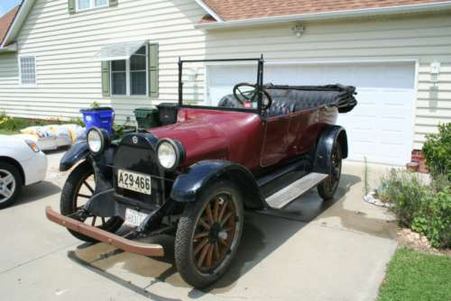 1916 Studebaker Touring Car