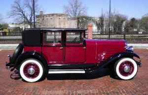 1930 Franklin Club Sedan