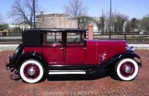 1930 Franklin Club Sedan